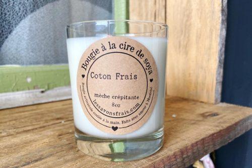 Bougie Coton Frais